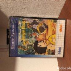 Videojuegos y Consolas: THE JUNGLE BOOK (SEGA MASTER SYSTEM, 1993) NTSC TEC TOY BRASIL NUEVO PRECINTADO. Lote 198853707