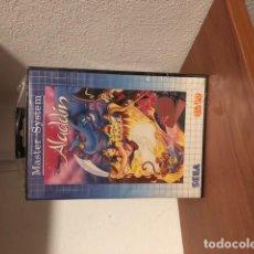 Videojuegos y Consolas: DISNEY'S ALADDIN (SEGA MASTER SYSTEM, 1994) NTSC TEC TOY BRASIL NUEVO PRECINTADO. Lote 198855287