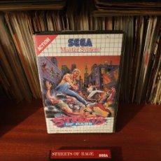 Jeux Vidéo et Consoles: STREETS OF RAGE / MASTER SYSTEM. Lote 199943022