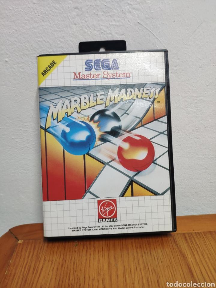SEGA MÁSTER SYSTEM MARBLE MADNESS (Juguetes - Videojuegos y Consolas - Sega - Master System)