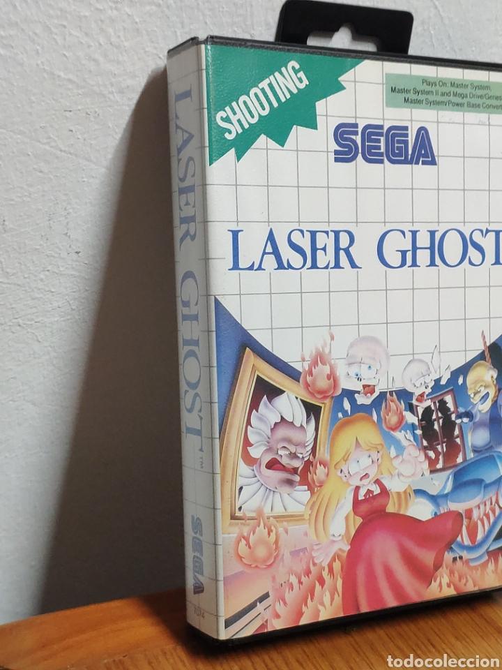 Videojuegos y Consolas: Juego sega master system laser ghost - Foto 2 - 202259227