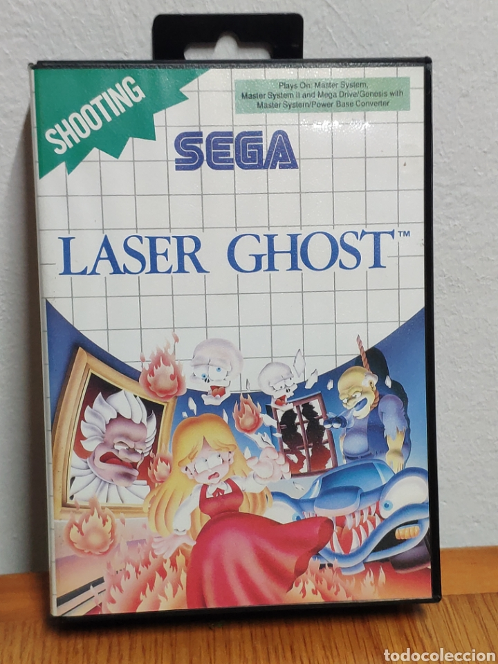 JUEGO SEGA MASTER SYSTEM LASER GHOST (Juguetes - Videojuegos y Consolas - Sega - Master System)
