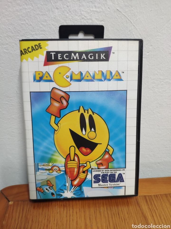 PACMANIA JUEGO SEGA MASTER SYSTEM PAC MANIA (Juguetes - Videojuegos y Consolas - Sega - Master System)