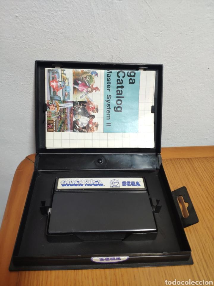 Videojuegos y Consolas: JUEGO COMPLETO CHUCK ROCK SEGA MASTER SYSTEM - Foto 9 - 202330900