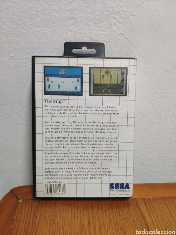 Videojuegos y Consolas: Juego completo sega master system the ninja the mega cartridge - Foto 4 - 202331435