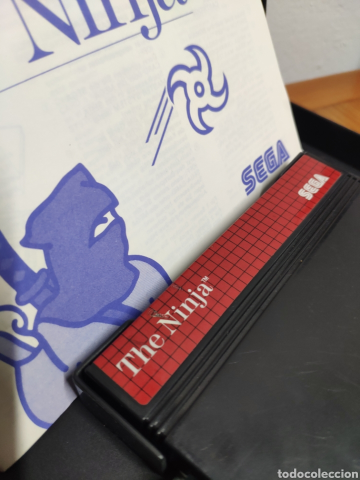 Videojuegos y Consolas: Juego completo sega master system the ninja the mega cartridge - Foto 10 - 202331435