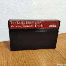 Videojuegos y Consolas: SEGA MASTER SYSTEM LUCKY DIME CAPER DONALD DUCK SOLO CARTUCHO. Lote 202338248