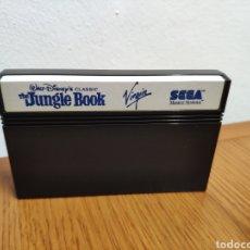 Videojuegos y Consolas: SOLO CARTUCHO THE JUNGLE BOOK DISNEY SEGA MASTER SYSTEM. Lote 202340951