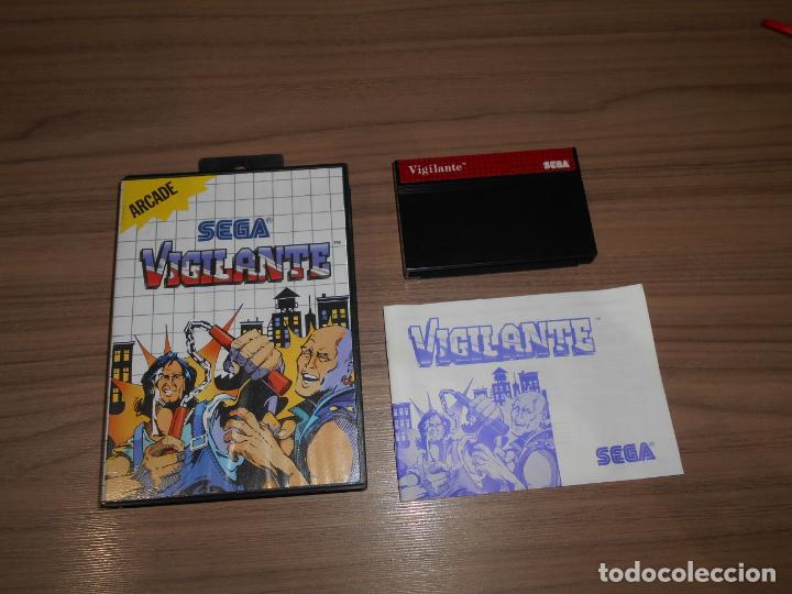 VIGILANTE COMPLETO SEGA MASTER SYSTEM COMO NUEVO (Juguetes - Videojuegos y Consolas - Sega - Master System)