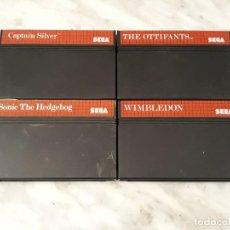 Videojuegos y Consolas: LOTE MASTER SYSTEM. Lote 202615446