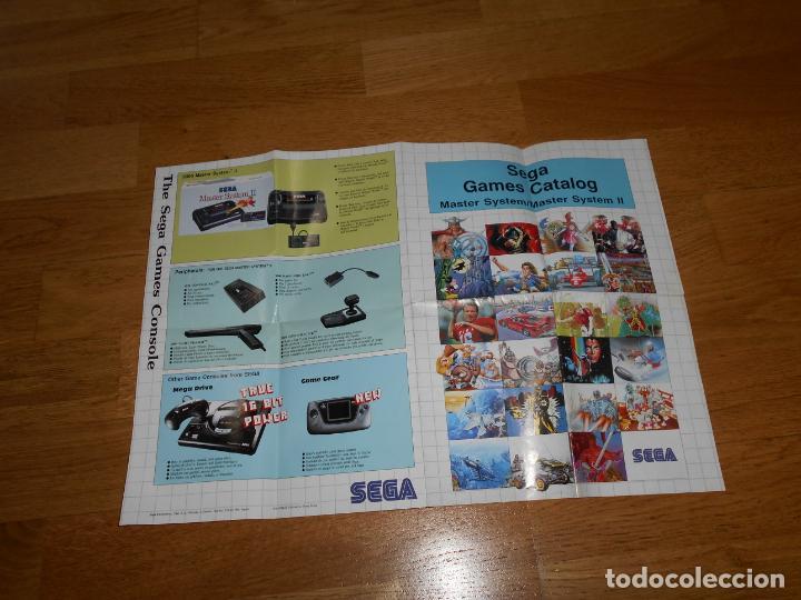 Videojuegos y Consolas: Catalogo original JUEGOS de SEGA MASTER SYSTEM - Foto 2 - 203164366