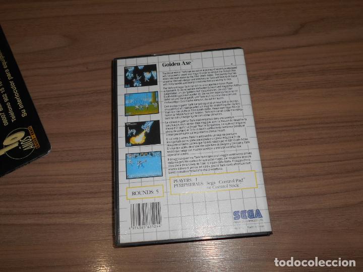 Videojuegos y Consolas: GOLDEN AXE Completo SEGA MASTER SYSTEM Pal España - Foto 2 - 203806471