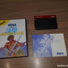 Videojuegos y Consolas: GOLDEN AXE COMPLETO SEGA MASTER SYSTEM PAL ESPAÑA. Lote 203806471