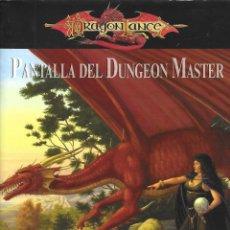Videogiochi e Consoli: DRAGONLANCE PANTALLA DEL DUNGEON MASTER (ENVIO PENINS MENS GRATIS). Lote 203907751