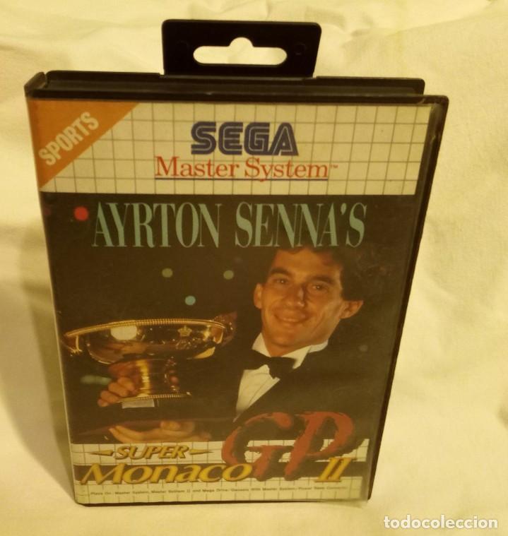 JUEGO PARA CONSOLA SEGA AYRTON SENNA 1992 (Juguetes - Videojuegos y Consolas - Sega - Master System)