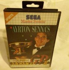 Videojuegos y Consolas: JUEGO PARA CONSOLA SEGA AYRTON SENNA 1992. Lote 204207615