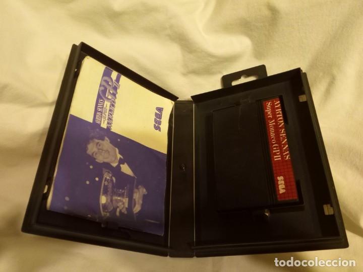 Videojuegos y Consolas: Juego para consola Sega Ayrton Senna 1992 - Foto 3 - 204207615