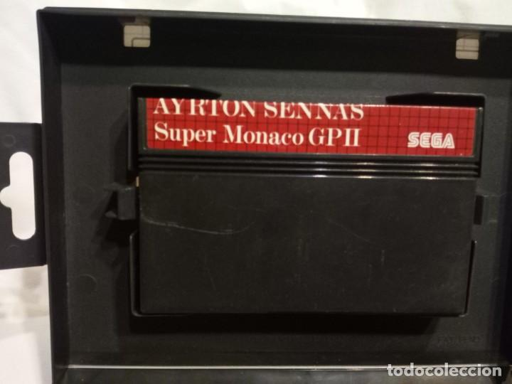 Videojuegos y Consolas: Juego para consola Sega Ayrton Senna 1992 - Foto 4 - 204207615
