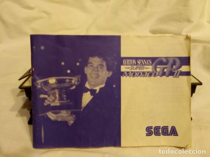 Videojuegos y Consolas: Juego para consola Sega Ayrton Senna 1992 - Foto 5 - 204207615