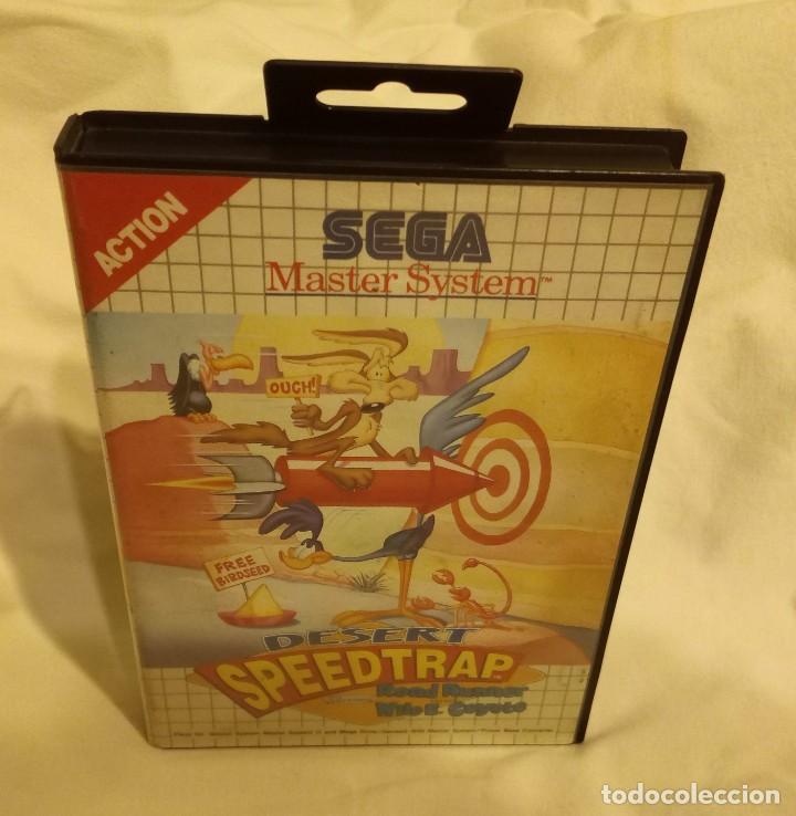 JUEGO PARA CONSOLA SEGA MASTER SYSTEM CORRECAMINOS 1993 (Juguetes - Videojuegos y Consolas - Sega - Master System)