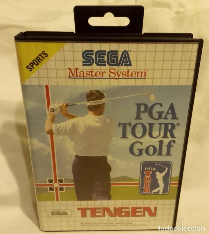 JUEGO PARA CONSOLA SEGA MASTER SYSTEM PGA TOUR GOLF 1991 (Juguetes - Videojuegos y Consolas - Sega - Master System)