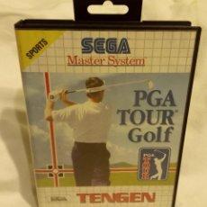 Videojuegos y Consolas: JUEGO PARA CONSOLA SEGA MASTER SYSTEM PGA TOUR GOLF 1991. Lote 204207862