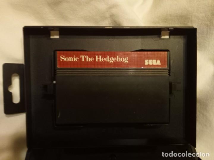 JUEGO PARA CONSOLA SEGA MASTER SYSTEM SONIC (Juguetes - Videojuegos y Consolas - Sega - Master System)