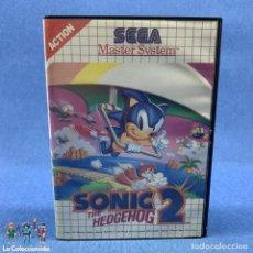 Videojuegos y Consolas: VIDEOJUEGOS - SEGA MASTER SYSTEM - SONIC 2 THE HEDGEHOG - ACTION - AÑO 1992. Lote 204304851