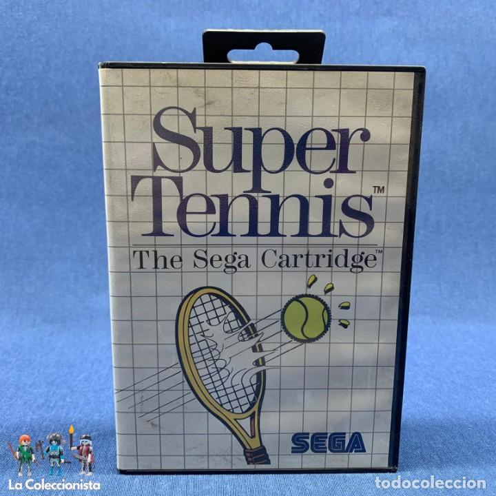VIDEOJUEGOS - SUPER TENNIS - THE SEGA CARTRIDGE - SEGA - AÑO 1986 (Juguetes - Videojuegos y Consolas - Sega - Master System)