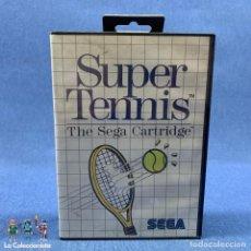Videojuegos y Consolas: VIDEOJUEGOS - SUPER TENNIS - THE SEGA CARTRIDGE - SEGA - AÑO 1986. Lote 204305063