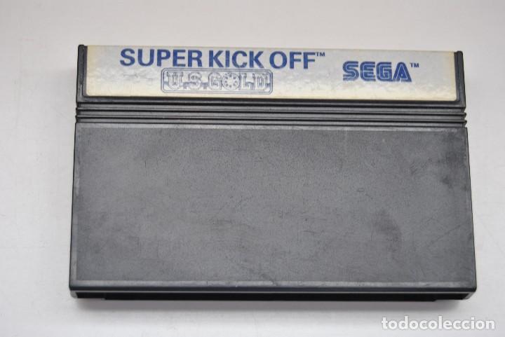 JUEGO SEGA MASTER SYSTEM SUPER KICK OFF US GOLD (Juguetes - Videojuegos y Consolas - Sega - Master System)