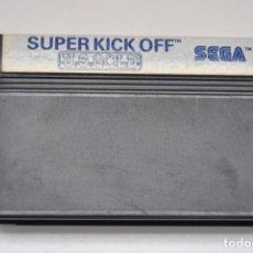 Videojuegos y Consolas: JUEGO SEGA MASTER SYSTEM SUPER KICK OFF US GOLD. Lote 205117440