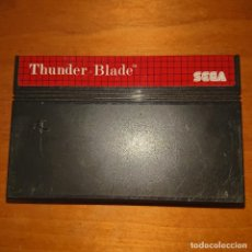 Videojuegos y Consolas: THUNDER BLADE MASTER SYSTEM CARTUCHO. Lote 205307187