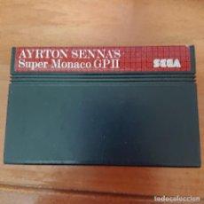 Videojuegos y Consolas: AYRTON SENNA'S MASTER SYSTEM CARTUCHO. Lote 205307328