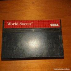 Videojuegos y Consolas: WORLD SOCCER MASTER SYSTEM CARTUCHO. Lote 205307700