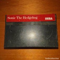 Videojuegos y Consolas: SONIC THE HEDGEHOG MASTER SYSTEM CARTUCHO. Lote 205527805