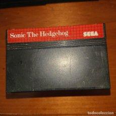Videojuegos y Consolas: SONIC THE HEDGEHOG MASTER SYSTEM CARTUCHO. Lote 205528085