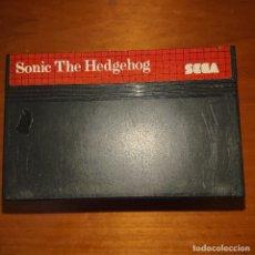 Videojuegos y Consolas: SONIC THE HEDGEHOG MEGADRIVE SIN MANUAL. Lote 205528213