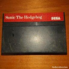 Videojuegos y Consolas: SONIC THE HEDGEHOG MASTER SYSTEM CARTUCHO. Lote 205528541
