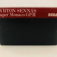 Videojuegos y Consolas: AYRTON SENNA MASTER SYSTEM SEGA. Lote 205657990