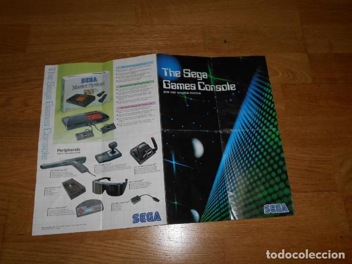 Videojuegos y Consolas: Catalogo ORIGINAL Juegos y Accesorios SEGA MASTER SYSTEM - Foto 2 - 206160406