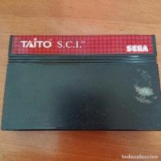 Videojuegos y Consolas: TAITO S.C.I. MASTER SYSTEM CARTUCHO. Lote 206178792