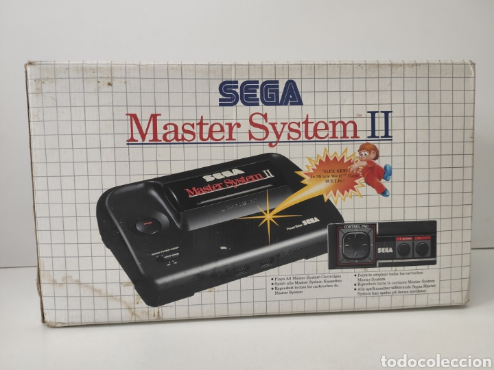 SEGA MASTER SYSTEM II + UN JUEGO. COMO NUEVA. VEAN FOTOS. (Juguetes - Videojuegos y Consolas - Sega - Master System)