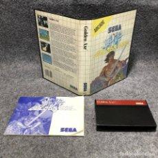 Videojuegos y Consolas: GOLDEN AXE SEGA MASTER SYSTEM. Lote 206498278