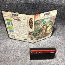 Videojuegos y Consolas: TAZ MANIA SEGA MASTER SYSTEM. Lote 206498283