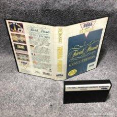 Videojuegos y Consolas: TRIVIAL PURSUIT GENUS EDITION SEGA MASTER SYSTEM. Lote 206498298