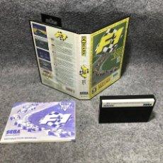 Videojuegos y Consolas: F1 SEGA MASTER SYSTEM. Lote 206498305