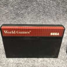 Videojuegos y Consolas: WORLD GAMES SEGA MASTER SYSTEM. Lote 206498347
