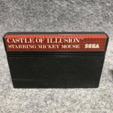 Videojuegos y Consolas: CASTLE OF ILLUSION SEGA MASTER SYSTEM. Lote 206498353