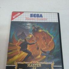 Videojuegos y Consolas: MASTER OF DARKNESS PARA MASTER SYSTEM ENTRA Y MIRA MIS OTROS JUEGOS!!. Lote 206990636